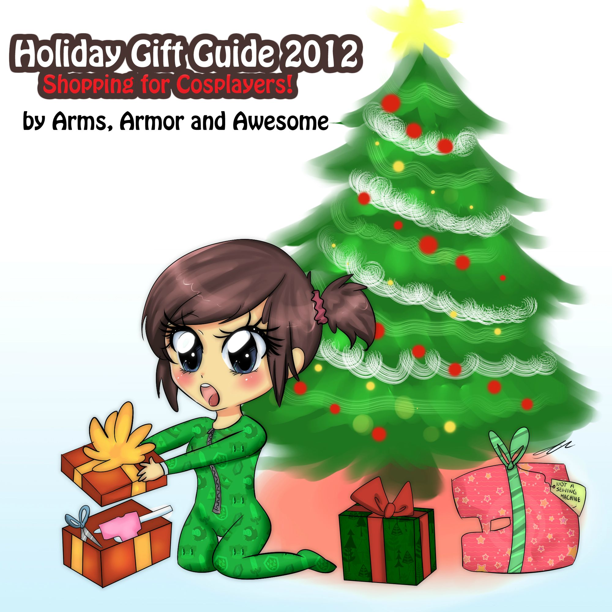 Holiday Gift Guide 2012- Shopping for Cosplayers! | Arms ...