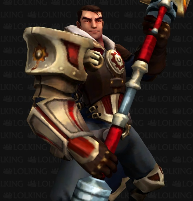 Jayce, from League of Legends